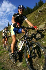 escursioni in mountain bike in Nevegal